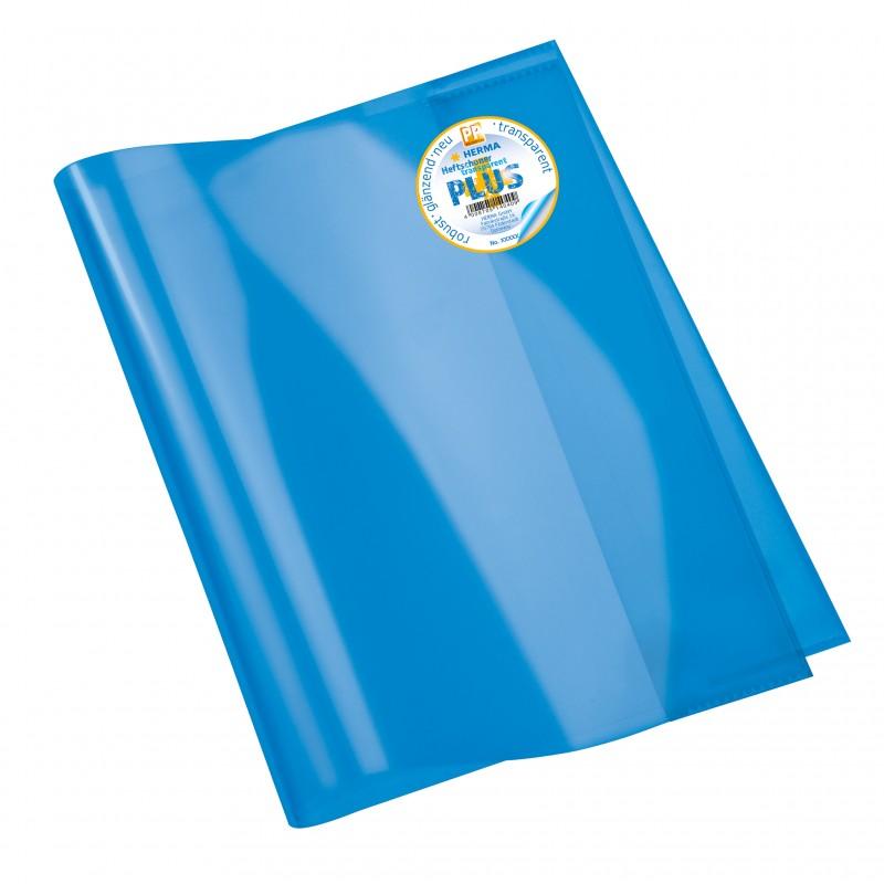 HERMA Heftschoner · Transparent PLUS · A4 · blau