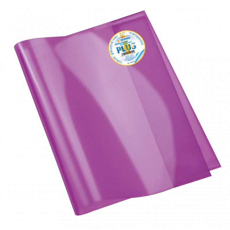 HERMA Heftschoner · Transparent PLUS · A4 · violett