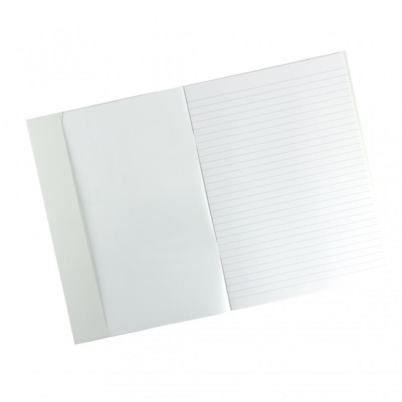 HERMA Karton-Heftschoner · A4 · weiß