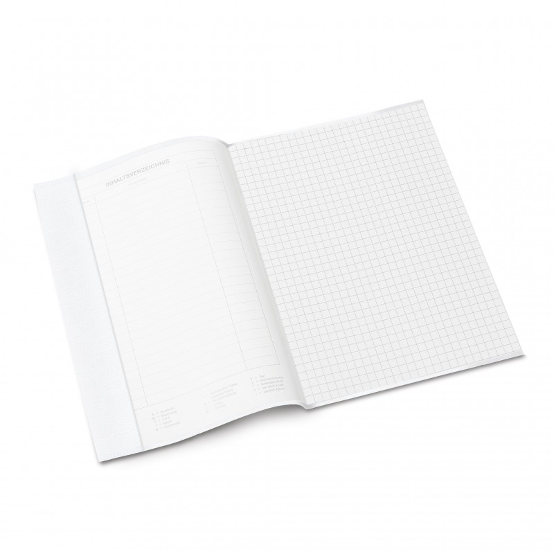 HERMA Heftschoner · PP A5 · gedeckt · weiß