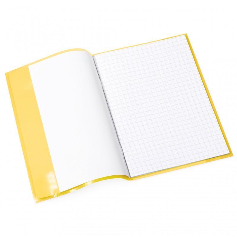 HERMA Heftschoner · PP · A5 · transparent · gelb