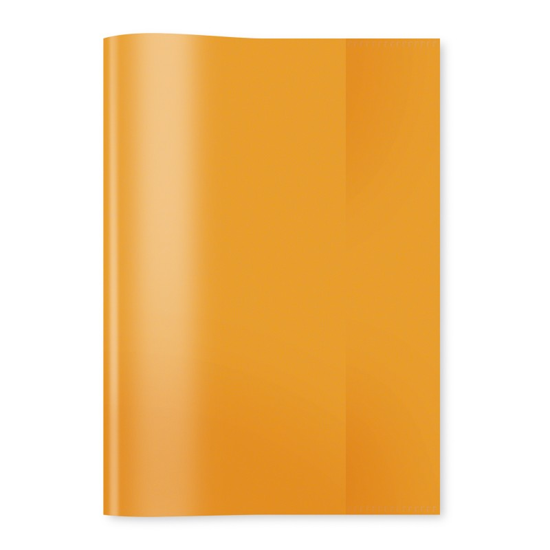 HERMA Heftschoner · PP · A5 · transparent · orange