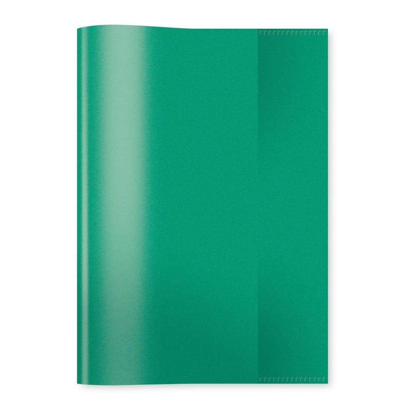 HERMA Heftschoner · PP · A5 · transparent · dunkelgrün