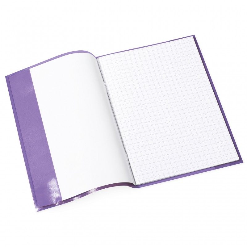 HERMA Heftschoner · PP · A5 · transparent · violett