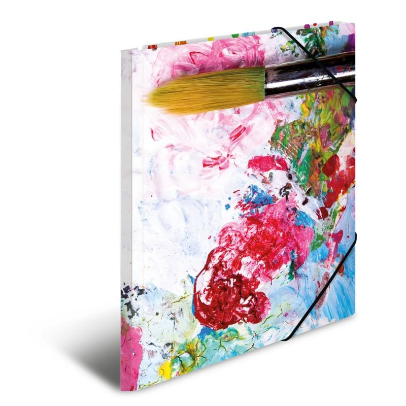 HERMA Sammelmappe · A3 · Karton · Farben