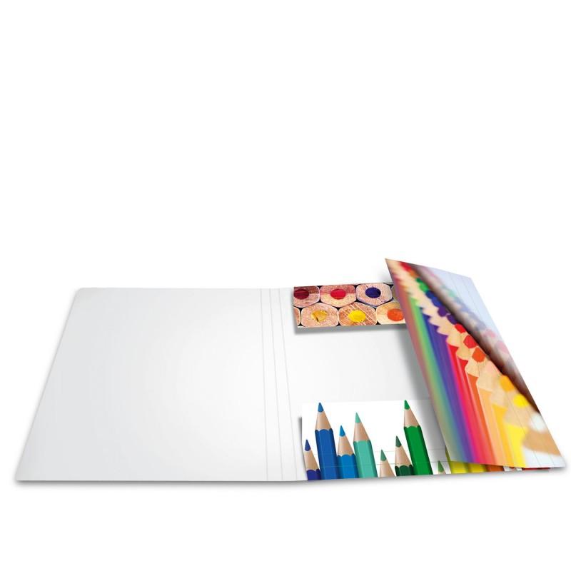HERMA Sammelmappe · A3 · Karton · Stifte
