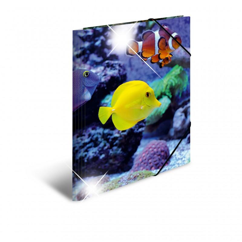 HERMA Sammelmappe · A3 · PP · Glossy Tiere · Fische