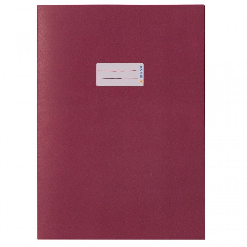 HERMA Heftschoner Papier A4 weinrot