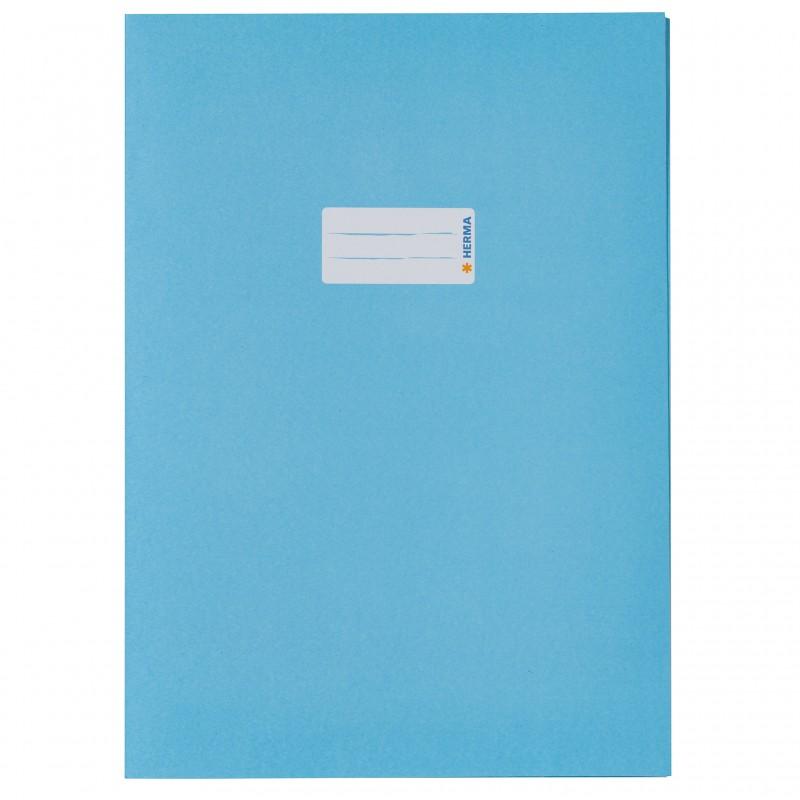 HERMA Heftschoner Papier A4 hellblau