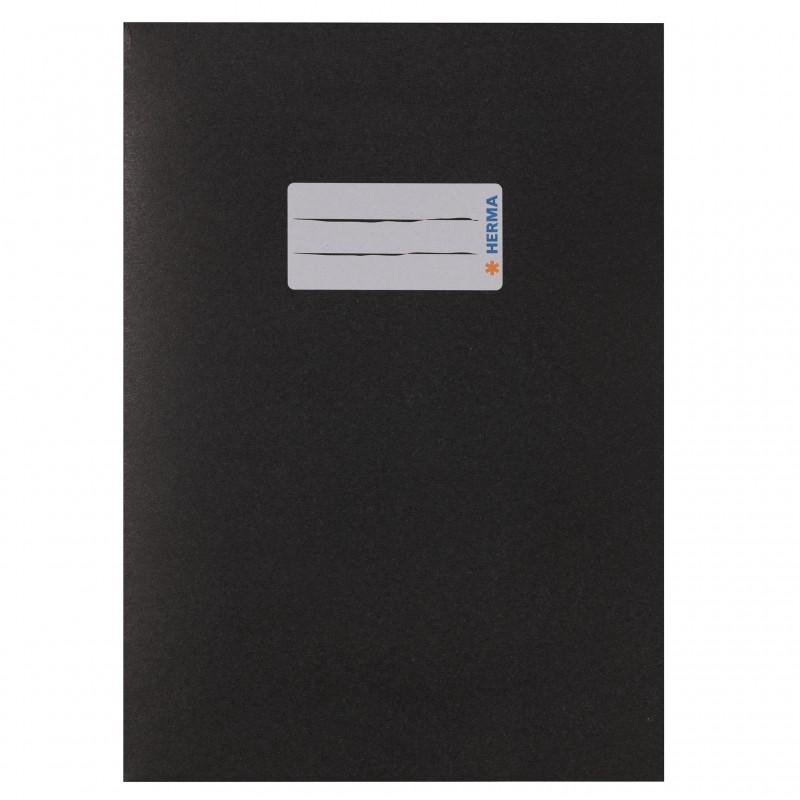 HERMA Heftschoner Papier A5 schwarz