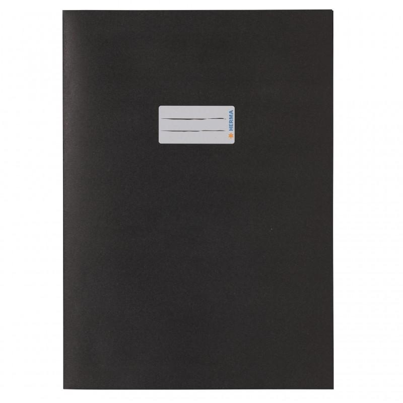 HERMA Heftschoner Papier A4 schwarz