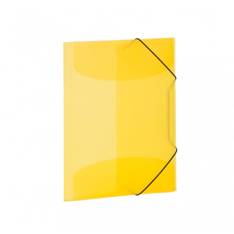 HERMA Sammelmappe A4 PP transluzent gelb