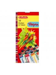 herlitz Temperafarbe · 6 Tuben