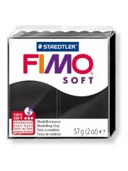 FIMO® soft ofenhärtende STAEDTLER® Modelliermasse - 57g - schwarz - 8020-9