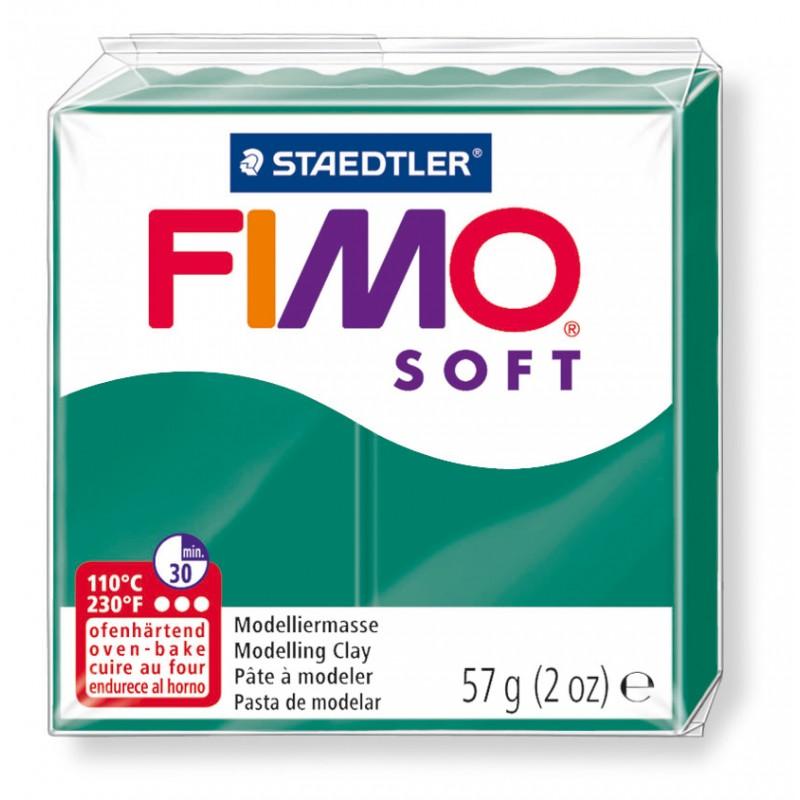 FIMO® soft ofenhärtende STAEDTLER® Modelliermasse - 57g - smaragd grün - 8020-56
