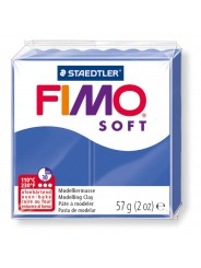 FIMO® soft ofenhärtende STAEDTLER® Modelliermasse - 57g - brilliantblau - 8020-33