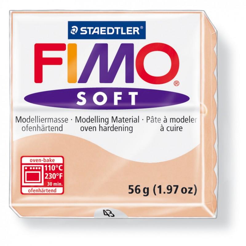 copy of FIMO® soft ofenhärtende STAEDTLER® Modelliermasse - 57g - haut / rosé - 8020-43