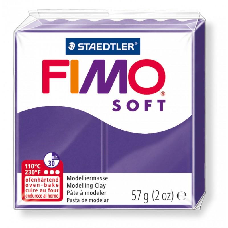 FIMO® soft ofenhärtende STAEDTLER® Modelliermasse - 57g - pflaume - 8020-63
