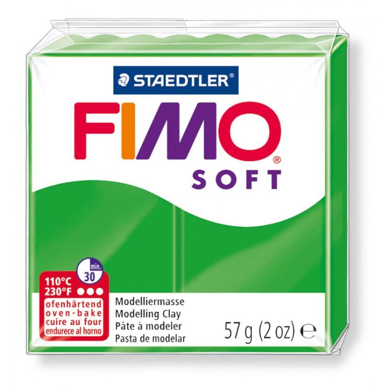 FIMO® soft ofenhärtende STAEDTLER® Modelliermasse - 57g - tropischgrün - 8020-53