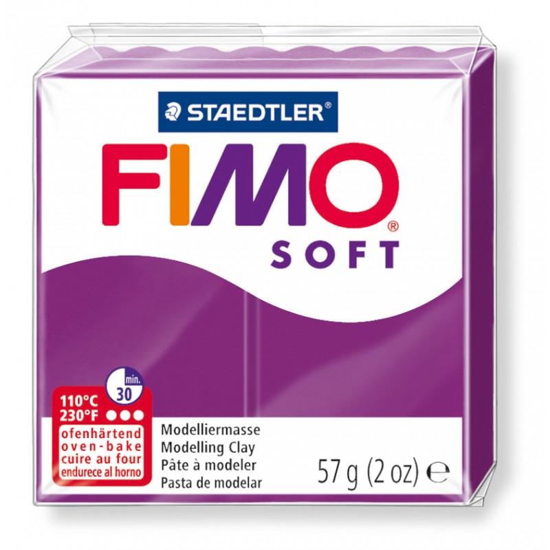 FIMO® soft ofenhärtende STAEDTLER® Modelliermasse - 57g - purpur lila - 8020-61