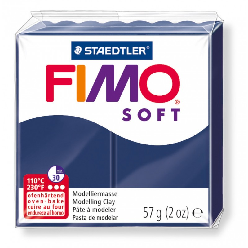 FIMO® soft ofenhärtende STAEDTLER® Modelliermasse - 57g - windsorblau - 8020-35