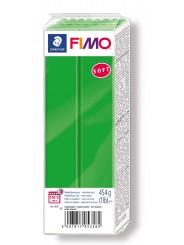 FIMO® soft ofenhärtende STAEDTLER® Modelliermasse - Großblock grün 454g - tropischgrün - 8021-53