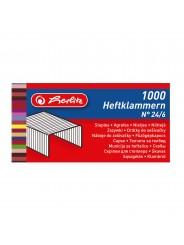 Herlitz Heftklammer · No. 24/8 ·  verzinkt ·  1.000er Schachtel