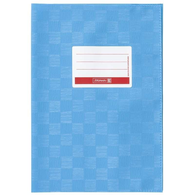 BRUNNEN Hefthülle · DIN A4 · gedeckt · blau