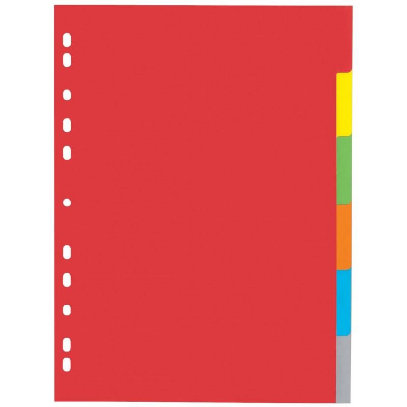 Pagna Ringbuchregister · 6-teilig · DIN A4 · Karton